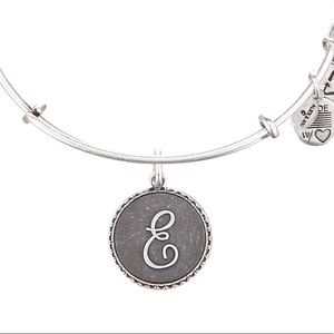 E initial by Alex and Ani